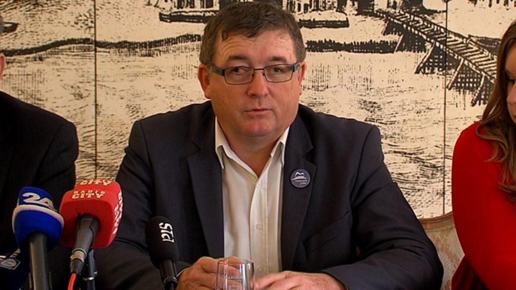 Andrej Fištravec, župan MOM