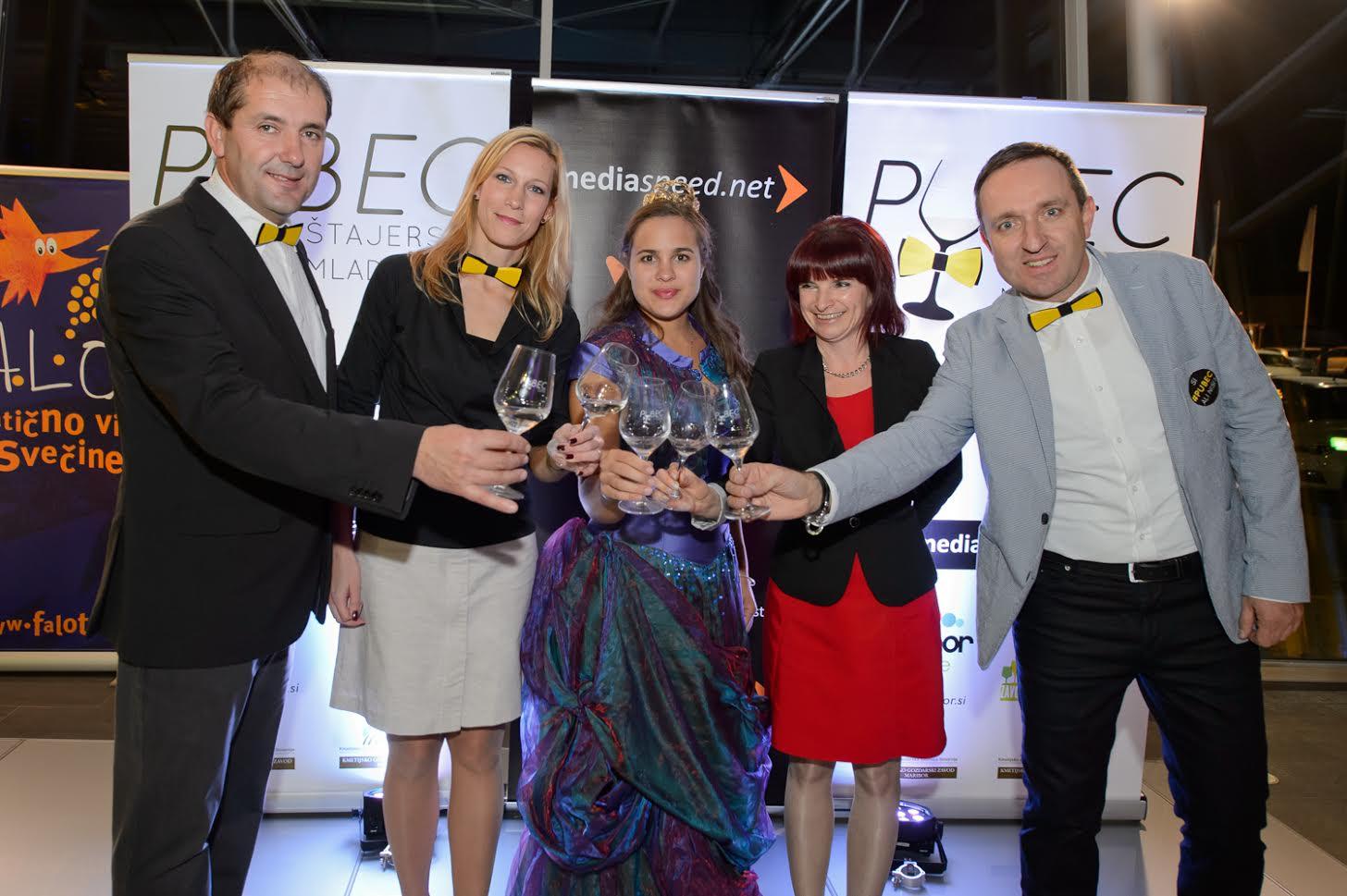 Andrej Rebernišek, Tanja Srečkovič Bolšec, Sara Stadler, Tadeja Vodovnik Plevnik, Borut Cvetko; FOTO: Mediaspeed