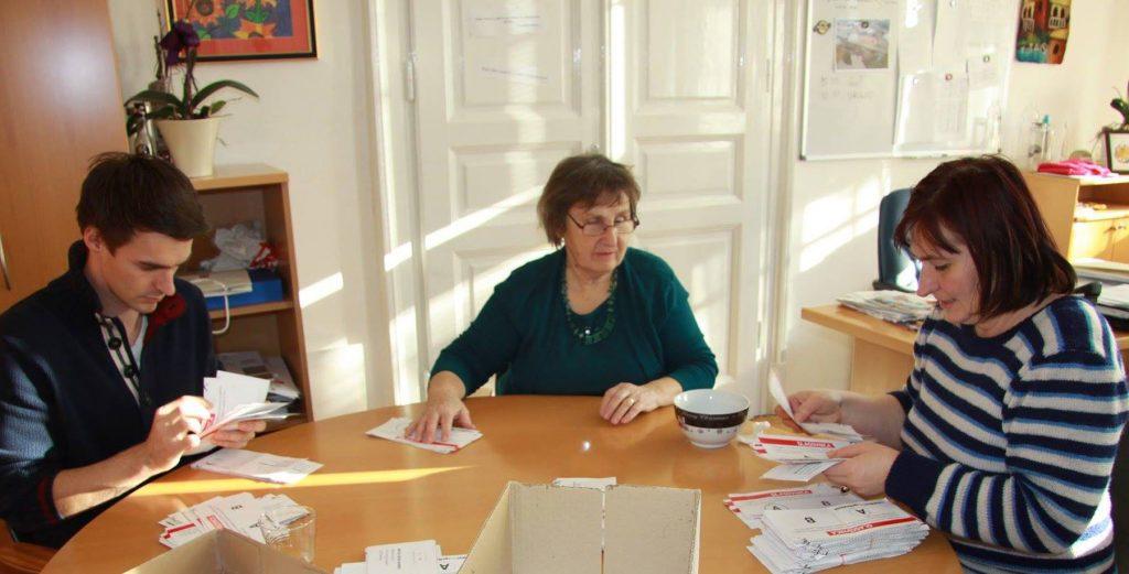 Štetje glasovnic na MO Maribor