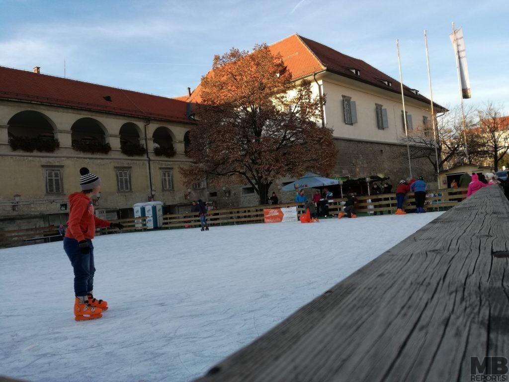 Drsališče v Mariboru.