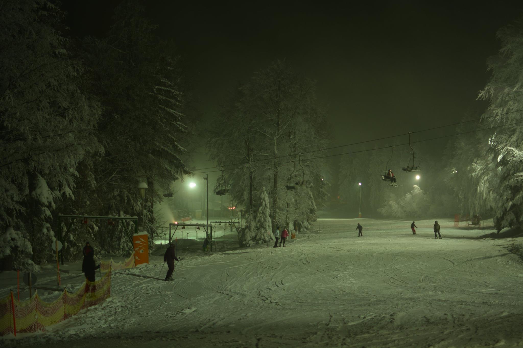 Nočna smuka; FOTO: Facebook Visit Pohorje