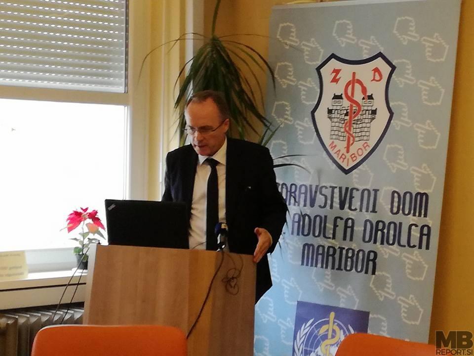 Jernej Završnik, dir. ZD dr. A. Drolca Maribor