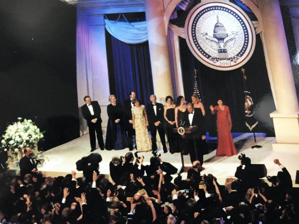 Inavguracija ameriškega predsednika Georga W. Busha leta 2001.