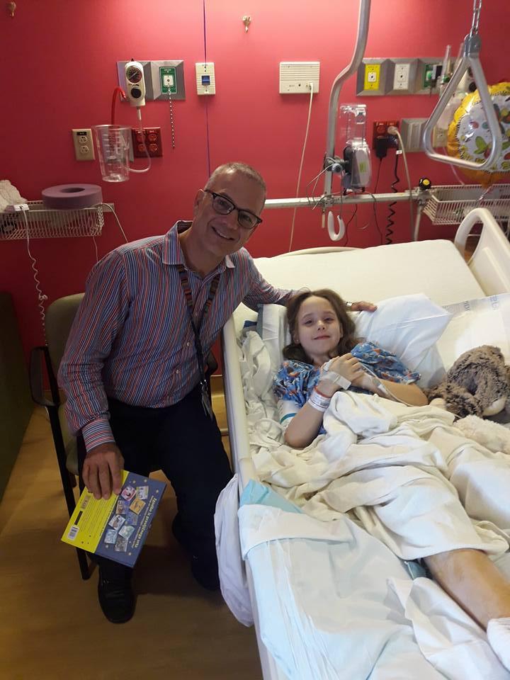 Lana in Dr. Paley; FOTO: Facebook profil Marjan Beranič