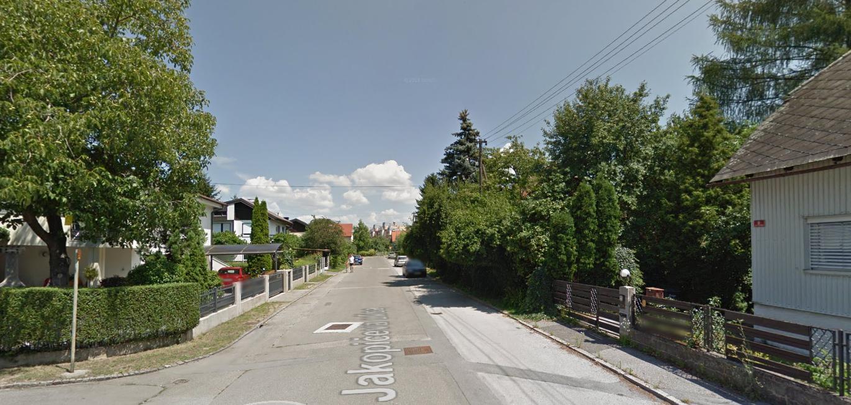 Jakopičeva ulica; VIR: google street view