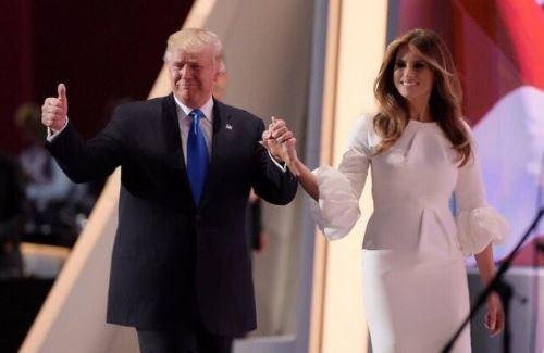 Donald in Melania Trump, predsednik in prva dama ZDA. Vir: Twitter