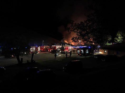 Požar na Ribičiji, foto: M. Pigac
