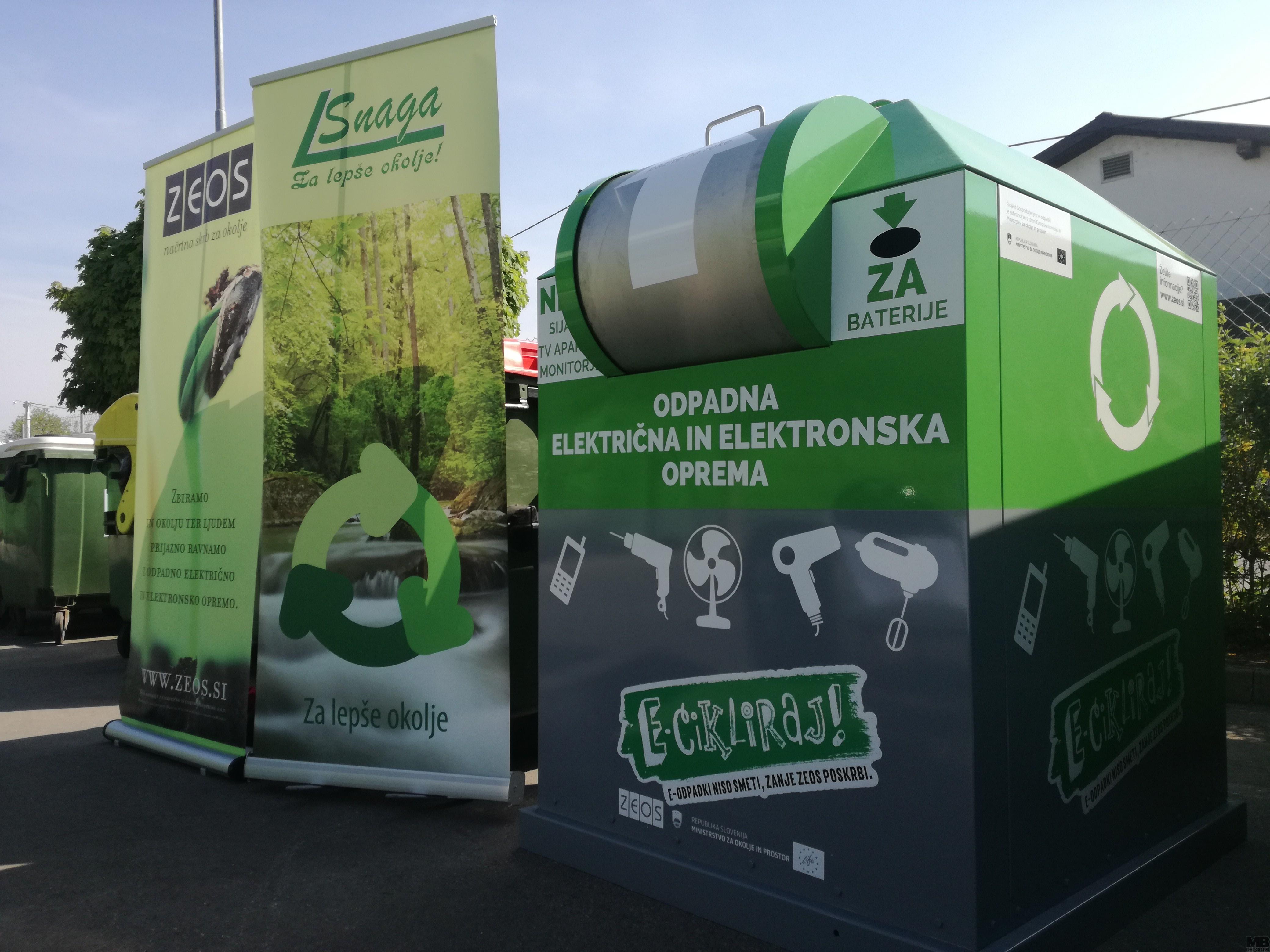 FOTO: V Mariboru bomo ločeno zbirali e-odpadke - MBREPORT.si