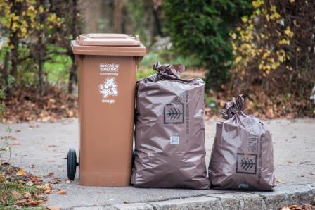 Biološki odpadki Snaga