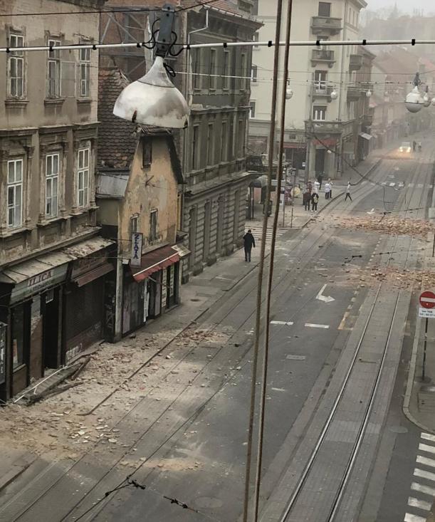 Ponovno Je Treslo Zagreb Potres Cutili Po Celotni Sloveniji Mbreport Si